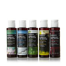 Korres Naturally Sweet 5-piece Shower Gel Kit