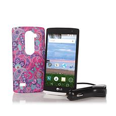 "LG Sunset 4.5"" 4G LTE Android TracFone w/1350 Minutes"
