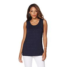 Liz Lange Studded Tank Top