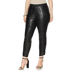 NENE by NeNe Leakes Fab Faux Leather Lounge Pant