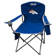 NFL Quad Chair with Armrest Cooler - Broncos