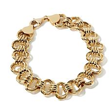 Passport to Gold 14K Interlocked Oval Link Bracelet