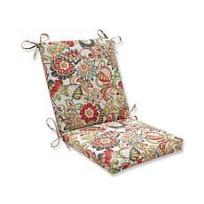 Pillow Perfect Squared Corner Outdoor Chair Cushion