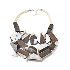 Rara Avis by Iris Apfel Black and Metallic Necklace