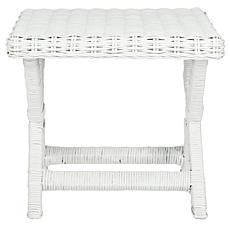 Safavieh Manor Mango Wood Rattan Bench