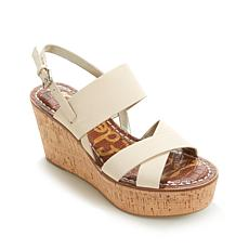 "Sam Edelman ""Destiny"" Leather and Cork Wedge"