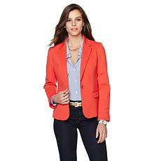 Samantha Brown Ponte Knit Airport Blazer