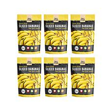 Simple Kitchen 6-pack Freeze-Dried Bananas