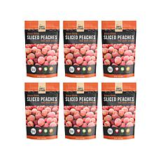 Simple Kitchen 6-pack Freeze-Dried Peaches