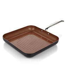 "Simply Ming 11"" Square Grill Pan"