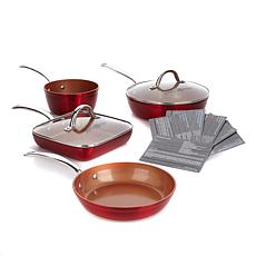 Simply Ming Ceramic Nonstick 6-piece Cook Set