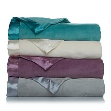 Soft & Cozy Light Blanket with Satin Trim - Full/Queen