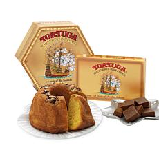 Tortuga Caribbean Rum Cake and Chocolate Rum Fudge