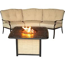 Traditions 2-piece Seating Set with Cast-Top Fire Pit