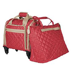 TravelSmith Quilted Carry-On Travel Set