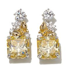 Victoria Wieck Absolute™ Canary and Clear Earrings