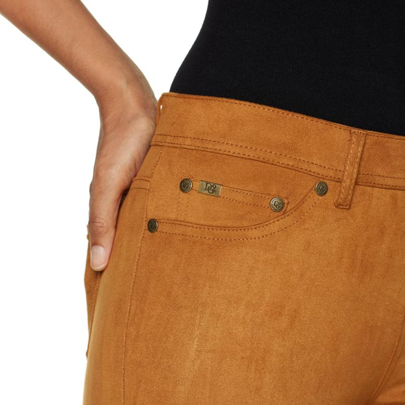 a2c5a801509e2 DG2 by Diane Gilman Stretch Faux Suede Jegging 8125933 on PopScreen