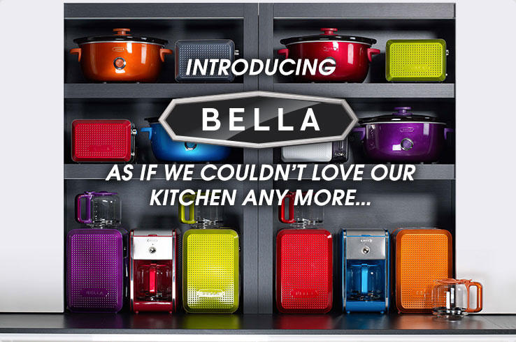 Introducing Bella Graphic   Bella Kitchen Tools And Appliances   As If We  Couldnu0027t