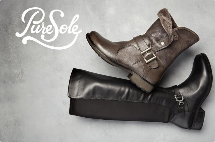 PureSole. Boots.