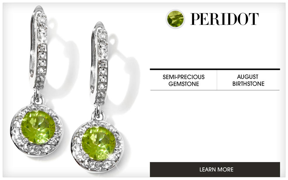 peridot gold earrings jewelry lewis renee in lyst green