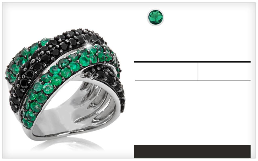 a26c10b3a617d Emerald Jewelry | May Birthstone Jewelry | HSN