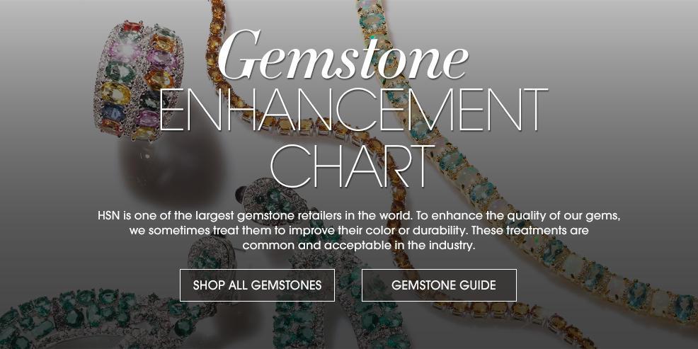 Gemstone Enhancement Chart   HSN