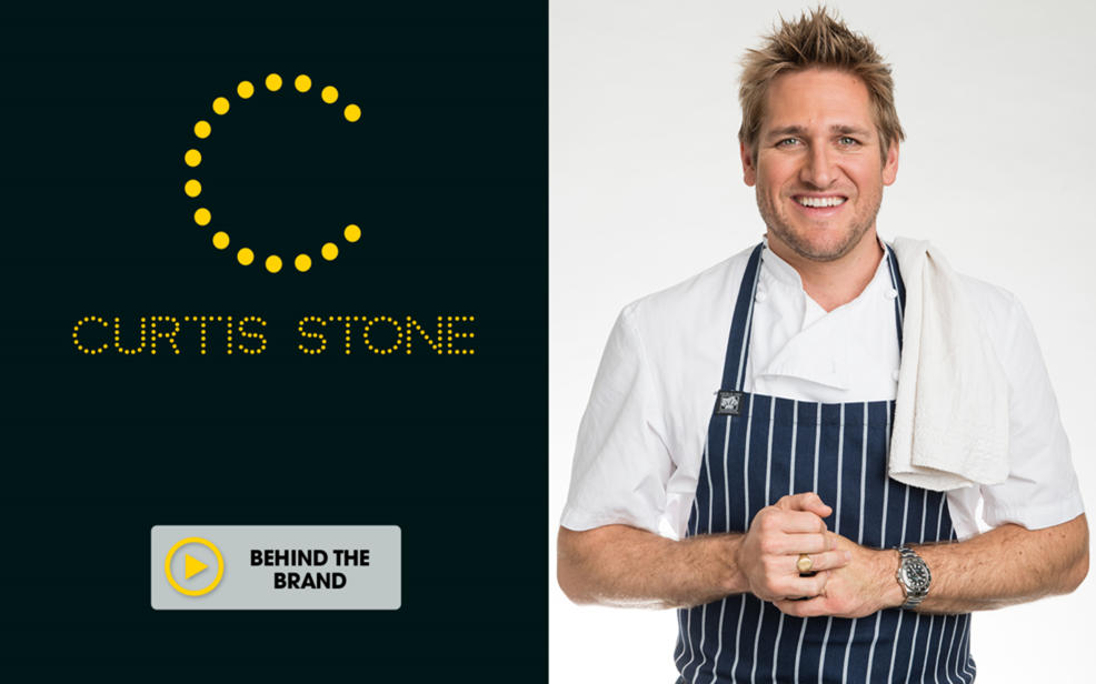 Curtis Stone. Turning the everyday into gourmet! Kitchen innovation to simplify prep and make cooking fun.