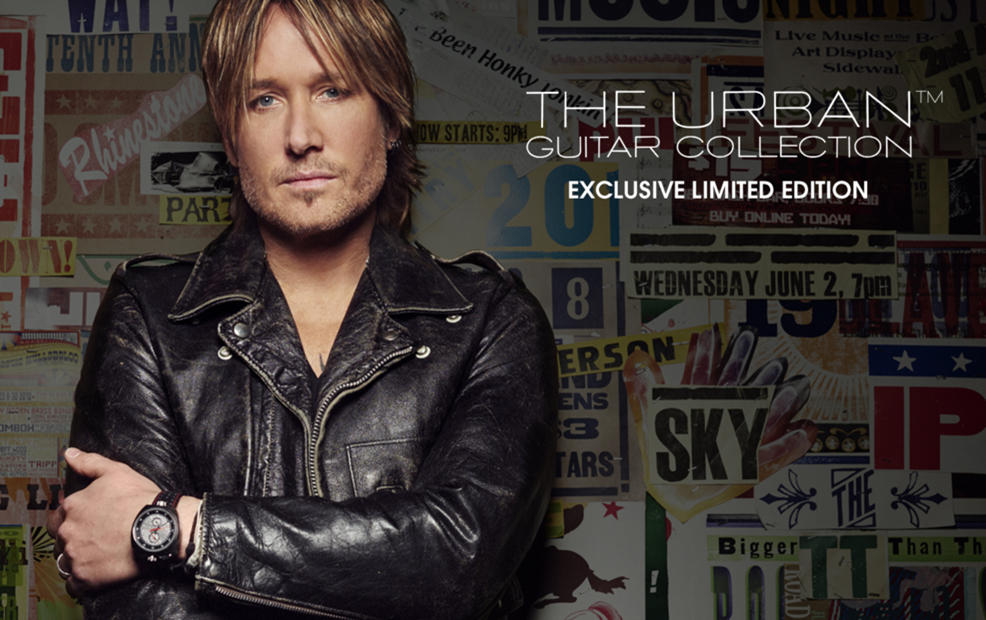 The Urban Guitar Collection Exclusive Limited Edition
