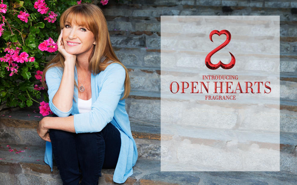 Jane Seymour Introducing Open Hearts Fragrance