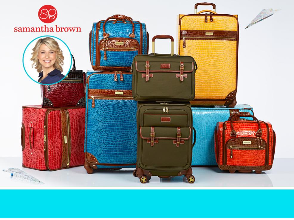Samantha Brown Luggage Qvc: Samantha Brown Wristlets & Wallets