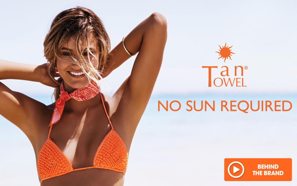 Tan Towel. No sun required.