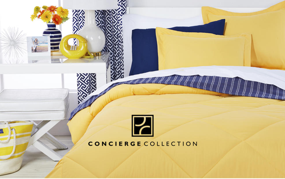 concierge collection clearance fashion bedding | hsn