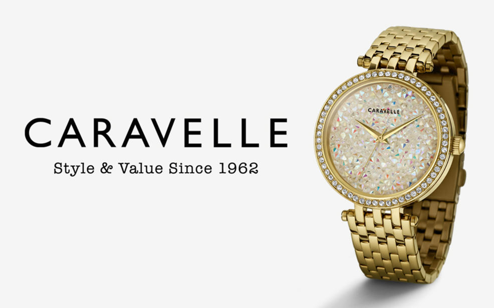 Caravelle watches. Style and value since 1962.