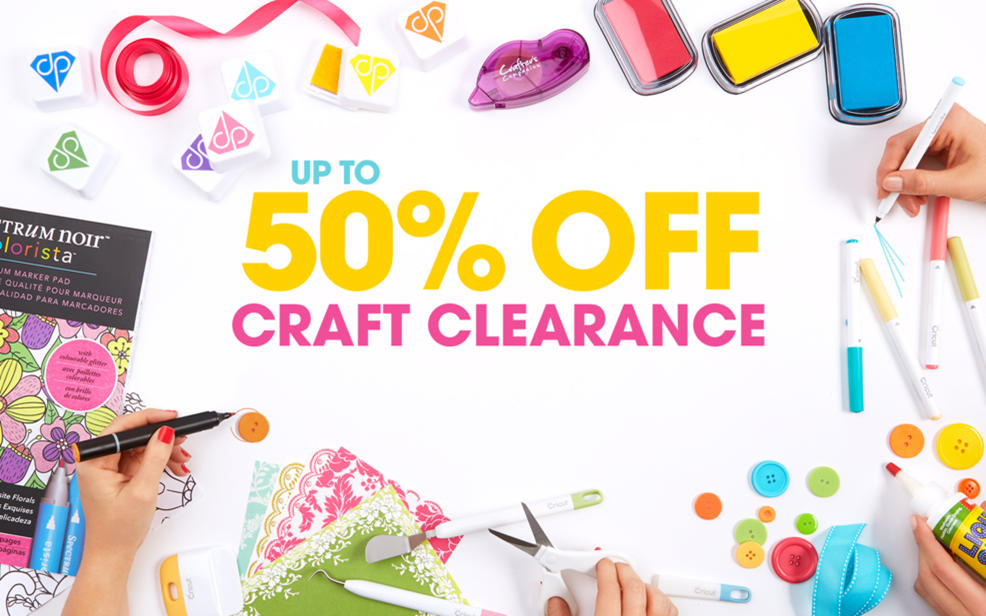 Up to 50% Off Craft Clearance