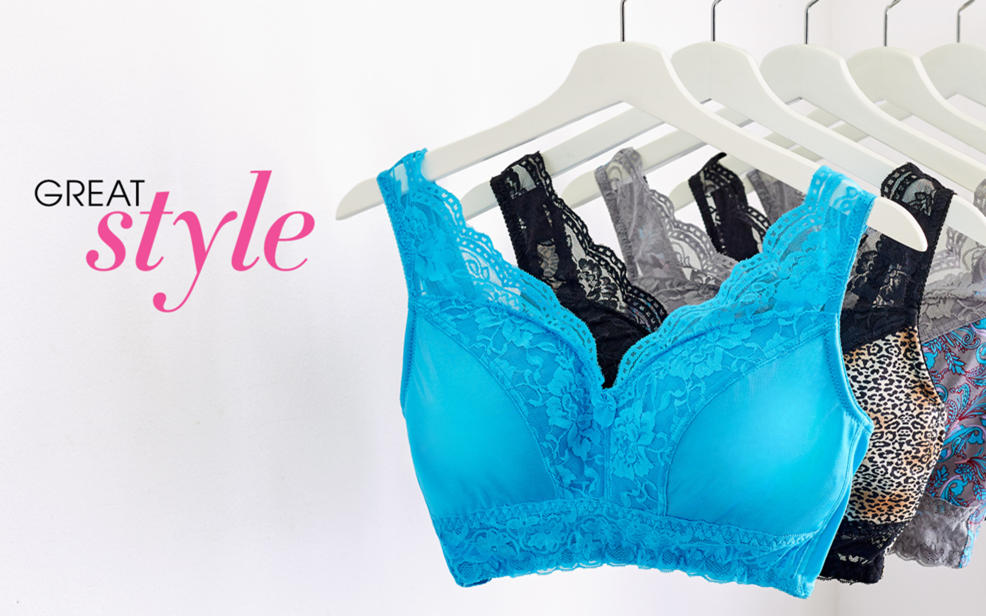 Great style. a collection of stylish bras