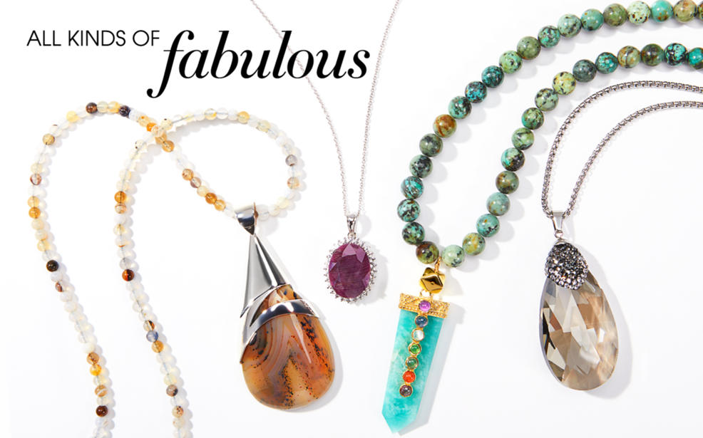All Kinds of Fabulous Necklaces