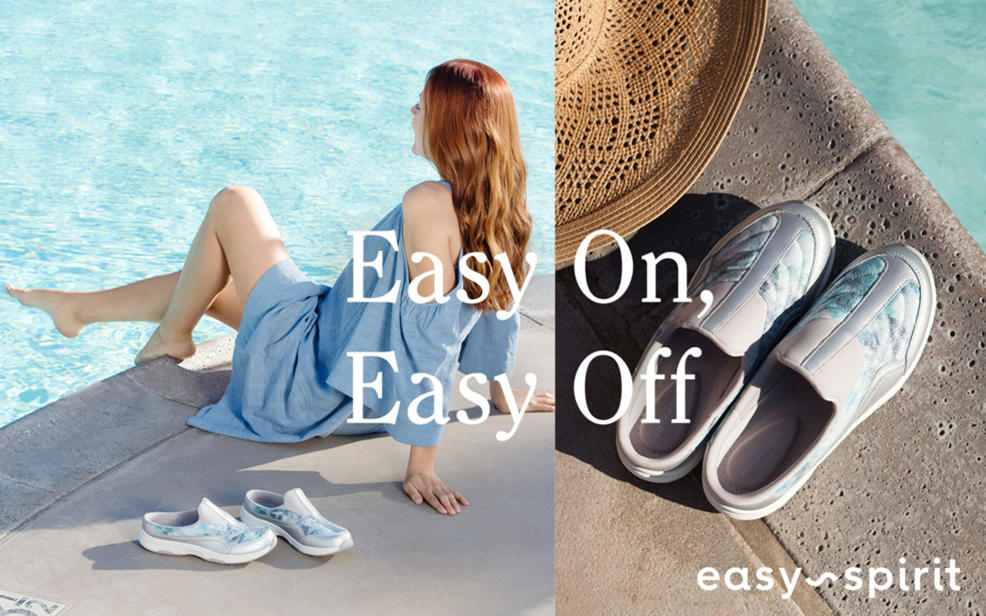 Easy On, Easy Off. Easy Spirit