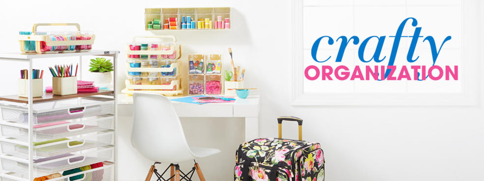 Crafty Organization: Keep your space tidy with creative storage solutions