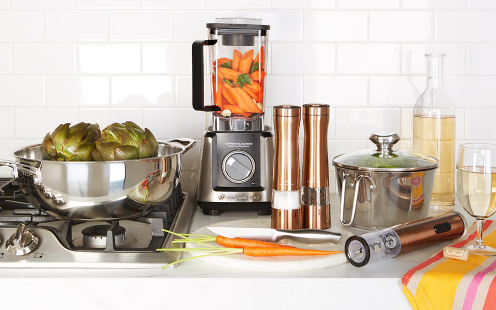 Pay over time and save on top kitchen picks, including Wolfgang Puck.
