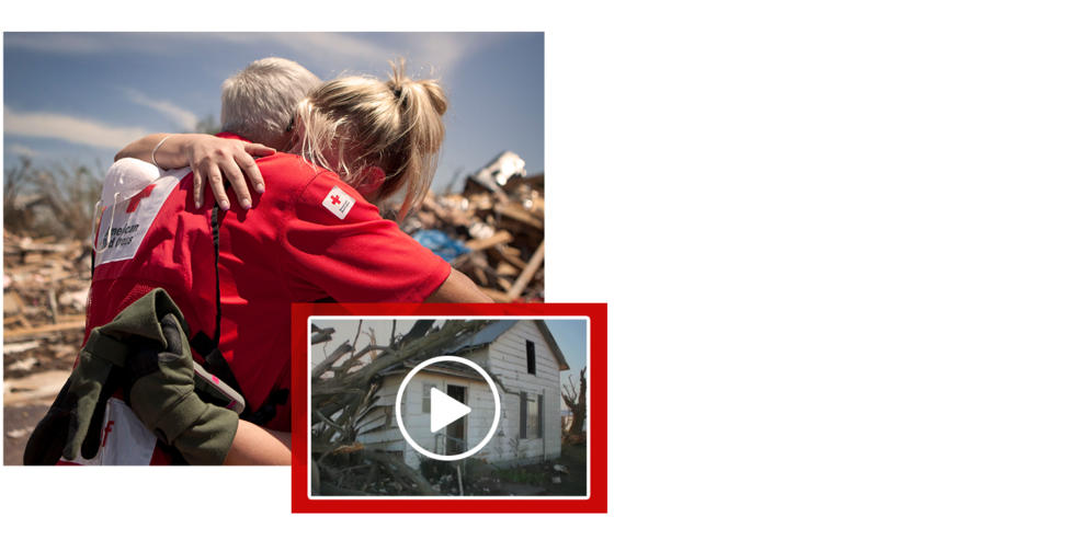 Your generous support helps the Red Cross provide shelter, food and other life-saving services to millions of people in response to disaster.