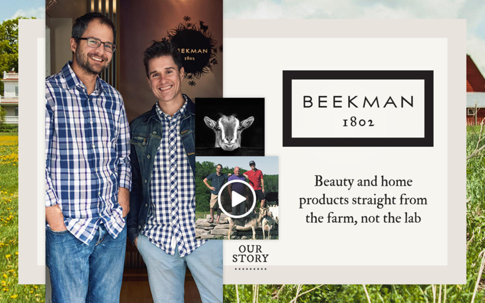 Beekman 1802. Our Story.