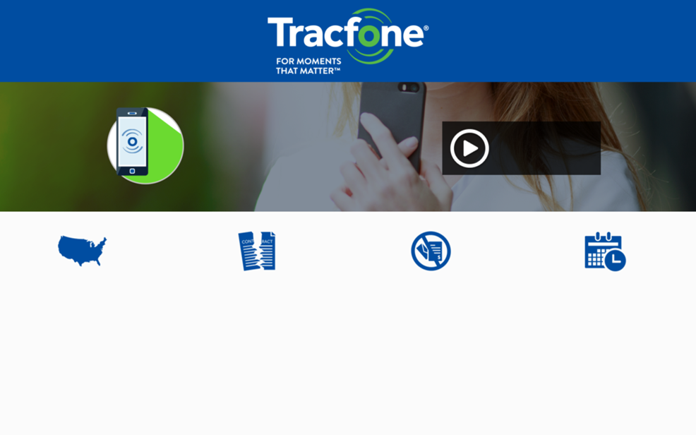 Tracfone. For moments that matter.