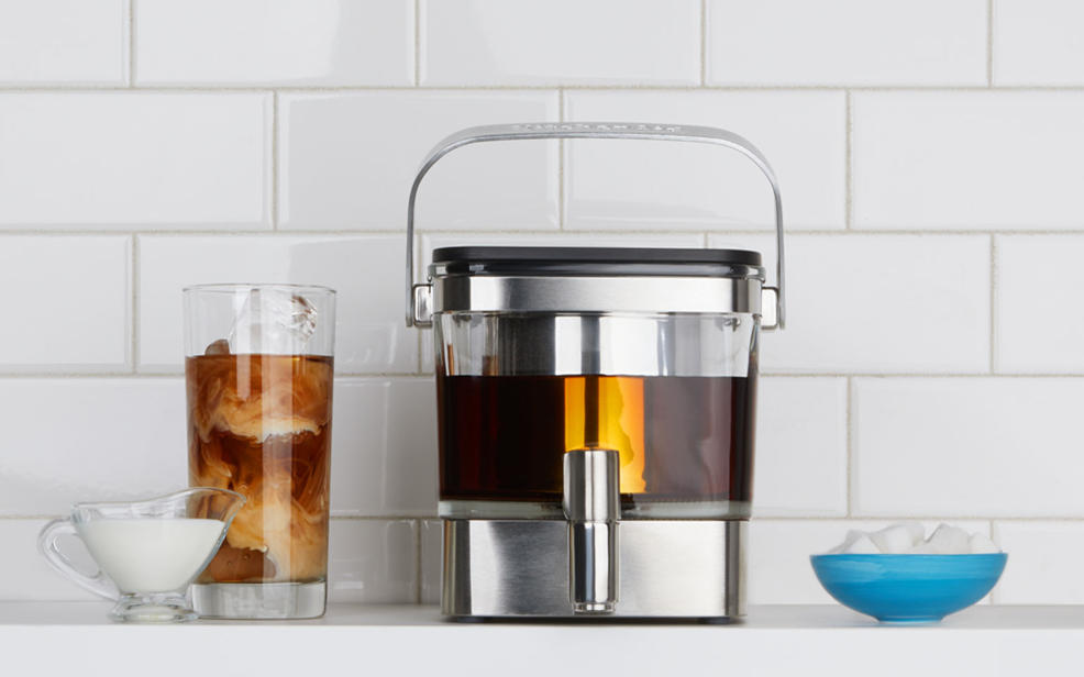 Cold brew coffee makers. Cold Brew is the best coffee. Always pick cold brew