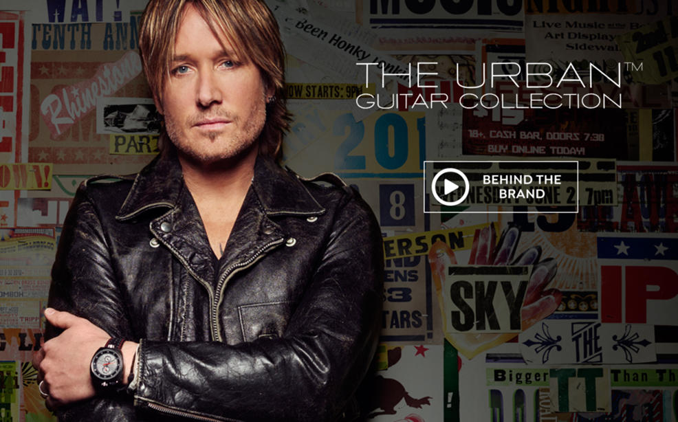 Keith Urban Guitar Package Collection Hsn
