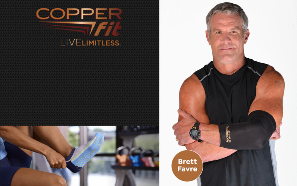 Brett Favre for Copperfit