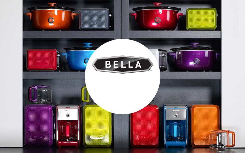 Bella logo and products