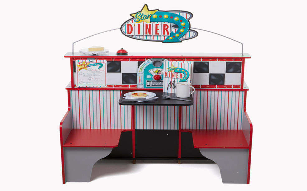 a diner playset