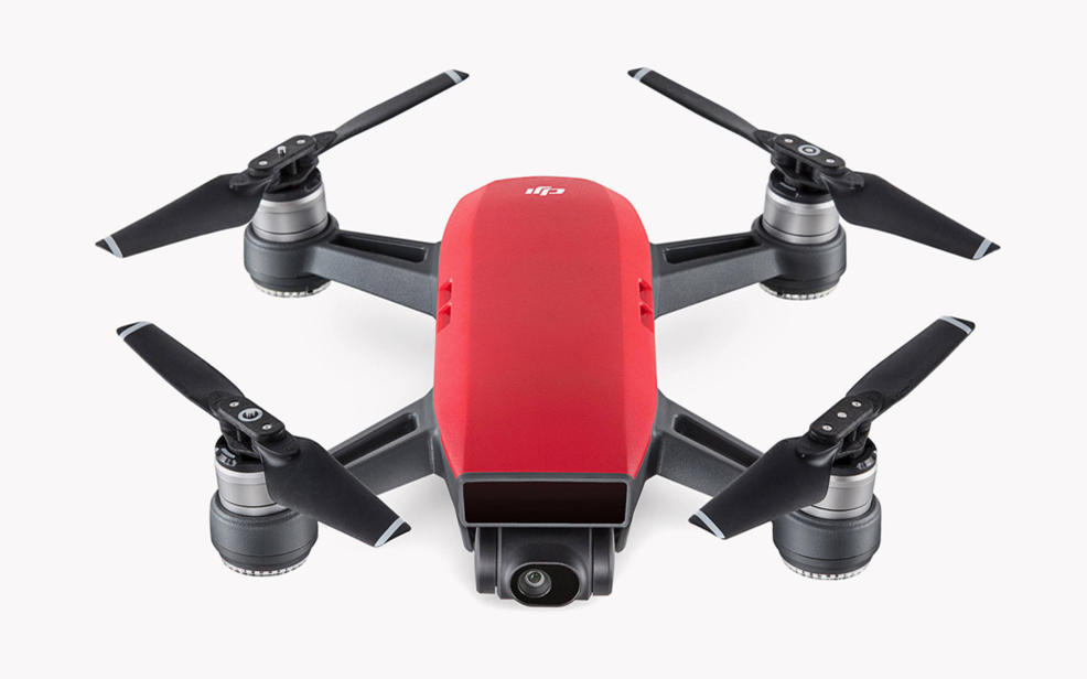 a red drone