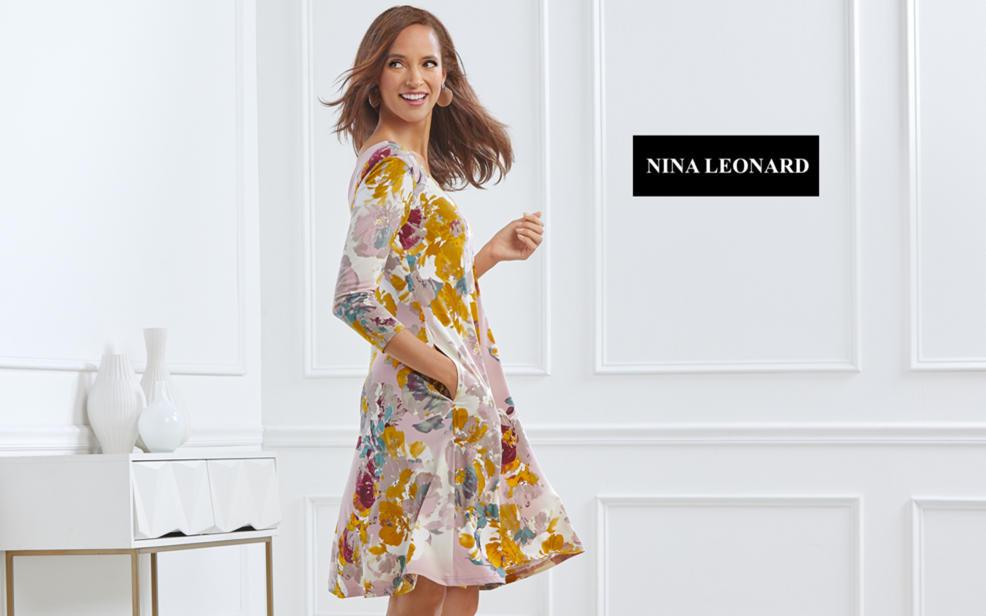 d4df7f04c66 Nina Leonard Green Women s Pants