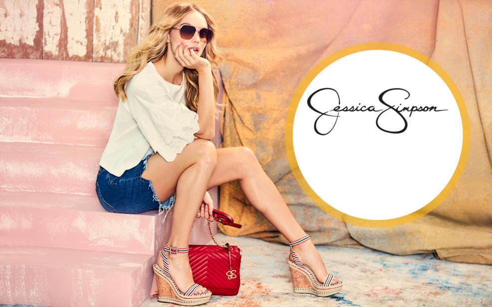 Simpson Shantelle Jessica Wedge Platform Sandal DH92IWE